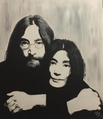 JOHN & YOKO - wanda spirit - Array auf Array - Array - Array